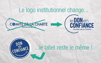 Nouveau logo institutionnel