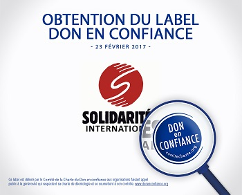 Label Don en confiance - Solidarités International