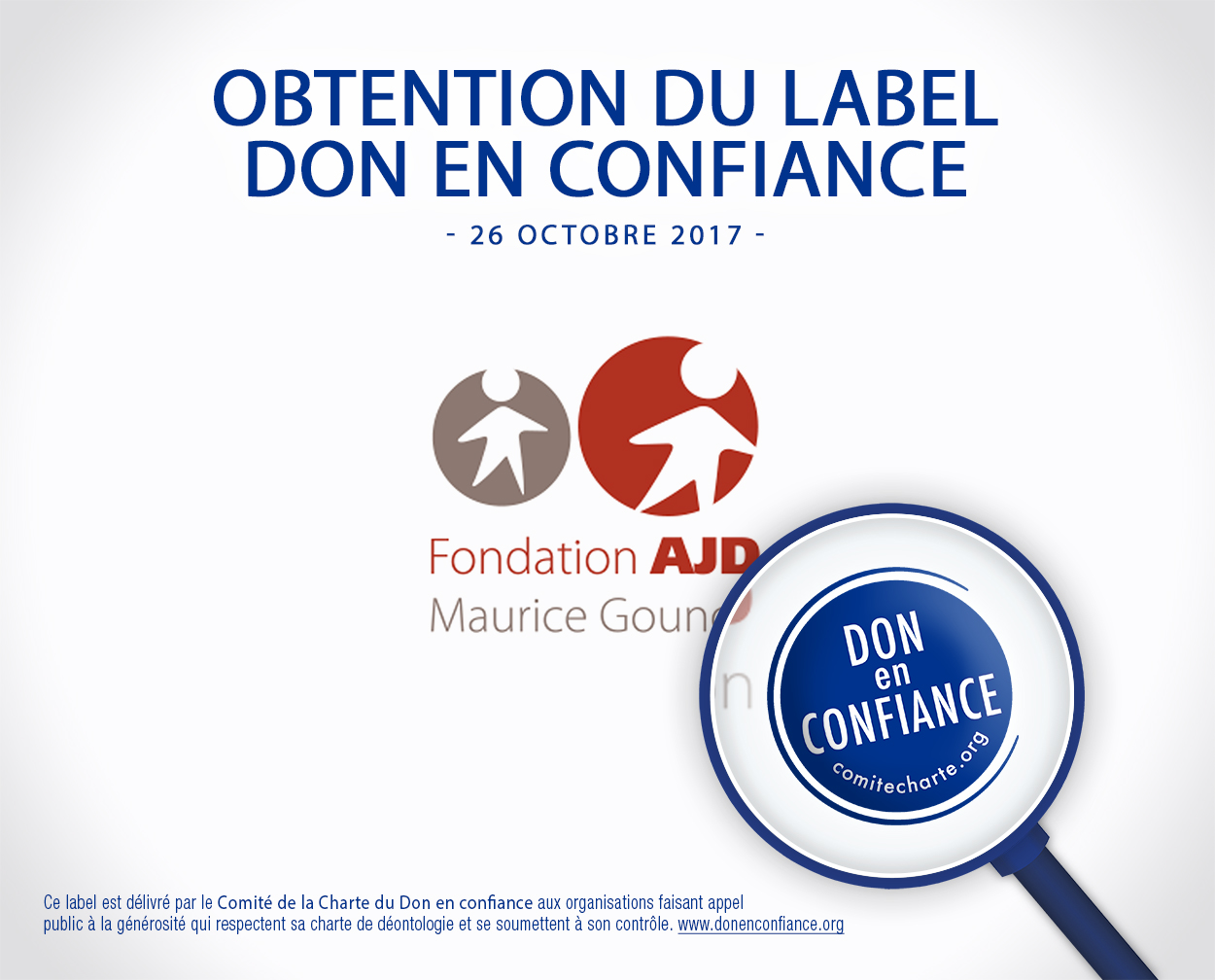 Obtention du label